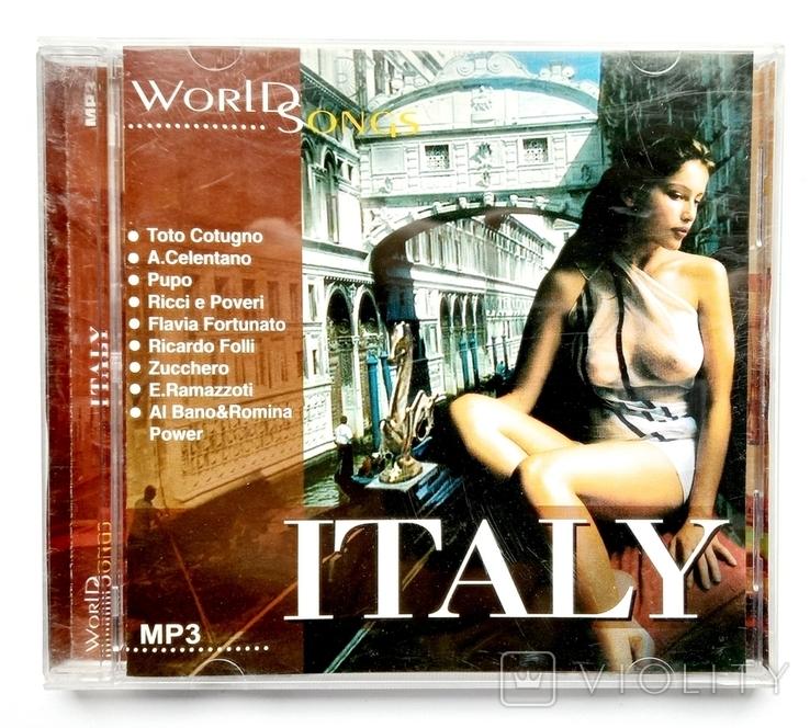 ITALY. World Songs. МР3, фото №2