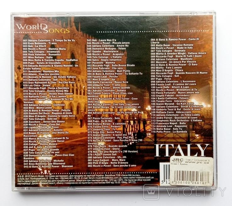 ITALY. World Songs. МР3, фото №3