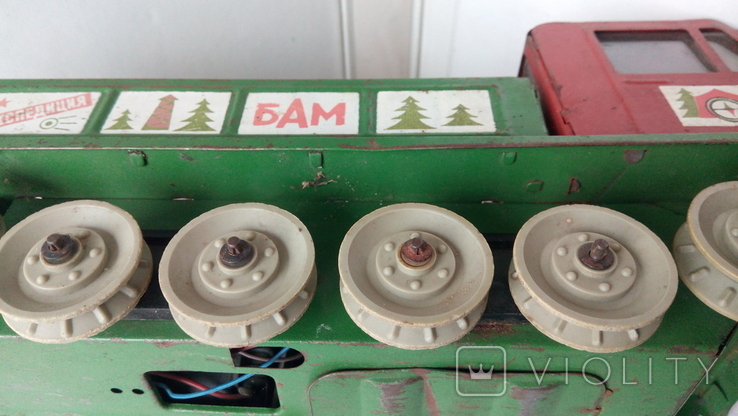 3341 машина КАМАЗ на базе вездехода Геолог Экспедиция БАМ СССР на батарейках, фото №7