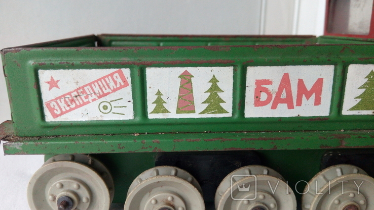 3341 машина КАМАЗ на базе вездехода Геолог Экспедиция БАМ СССР на батарейках, фото №9