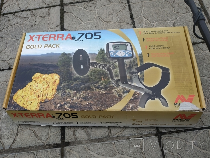 Металлоискатель Minelab X-terra 705, фото №10