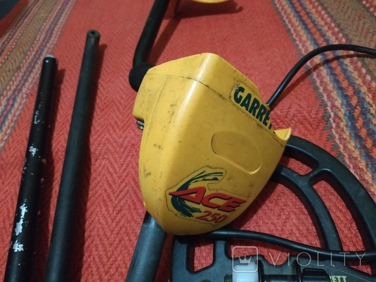 Металлоискатель Garrett ace 250, фото №6
