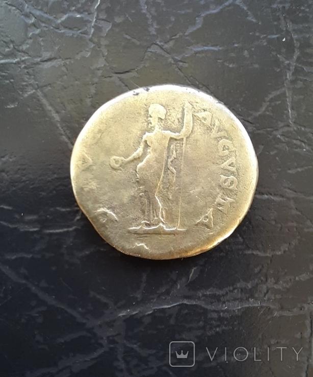 Денарій імператора Гальби 68-69рік н.е, фото №3