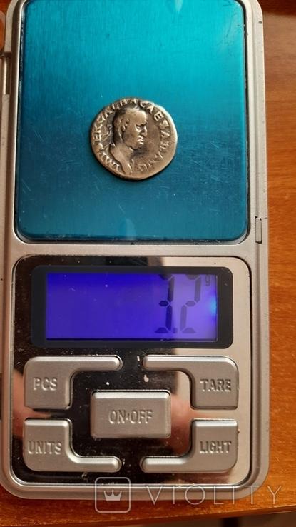 Денарій імператора Гальби 68-69рік н.е, фото №4