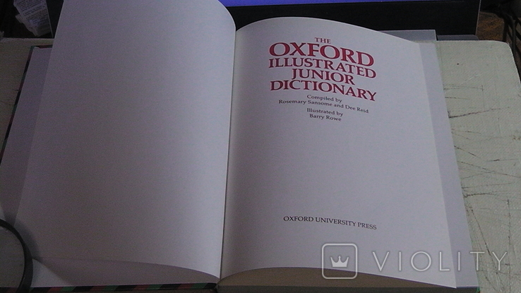 The OXFORD illustrated junior dictionary, фото №3