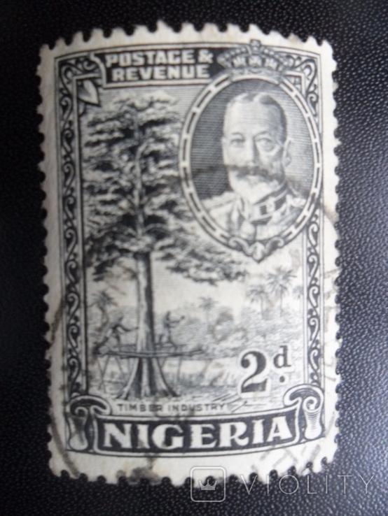 Британские колонии. Нигерия. гаш