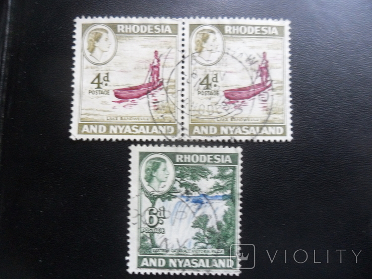 Британские колонии. Родезия и Ньяссаленд. гаш
