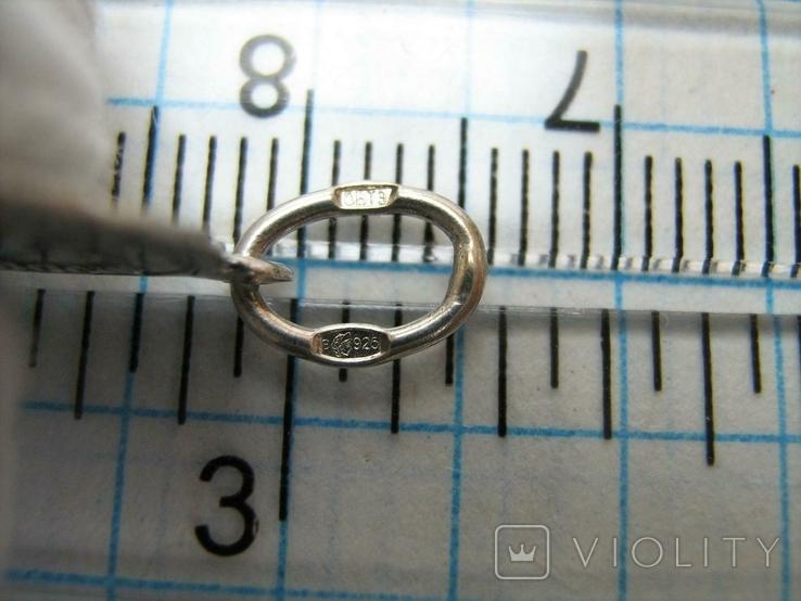 Серебряный Кулон Подвеска Образок Ладанка Святая Любовь Люба Серебро 925 проба 396, фото №5