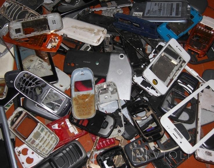 1кг запчастей от моб.телефонов, фото №3