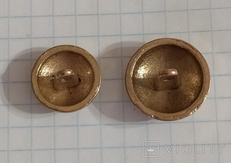 Пуговицы 2 шт., фото №3