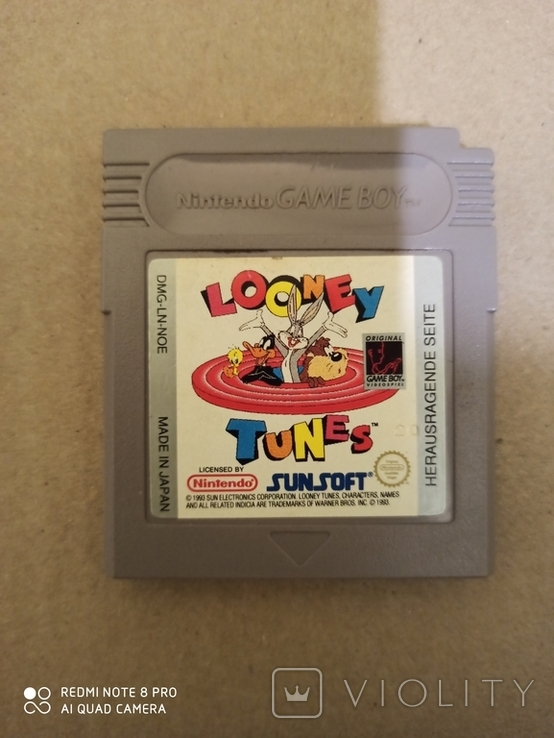 Картридж для Game Boy Looney Tunes, фото №2