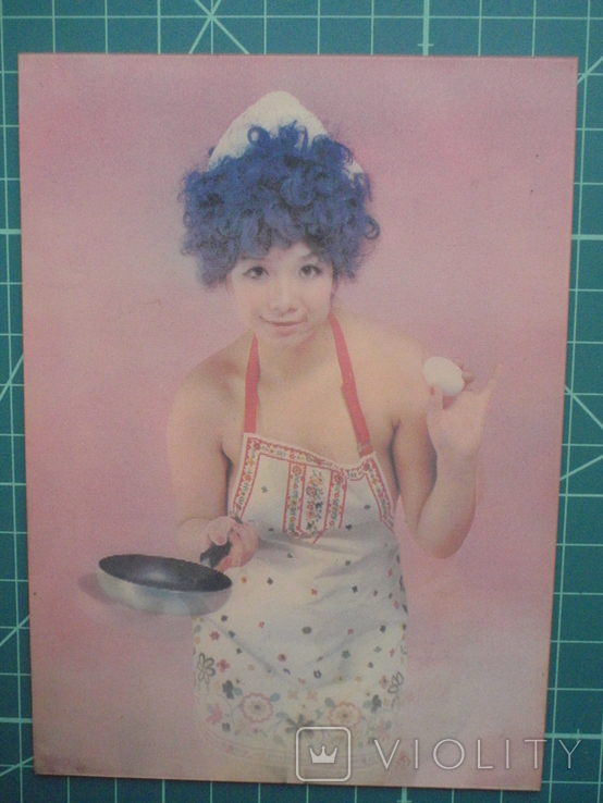 Стерео открытка времен СССР. Девушка. Эротика. 1, фото №2