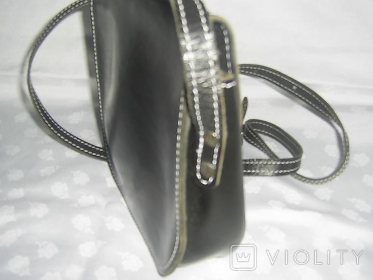 Сумочка на ремешке с альпийской символикой. новая, фото №8