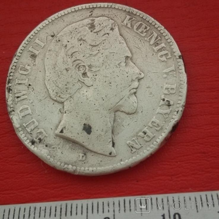 5 марок1871 г, фото №3