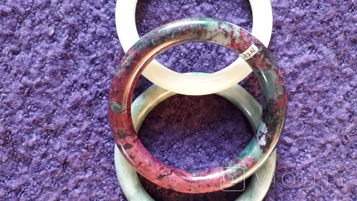 Три браслета з натурального каменю., фото №10