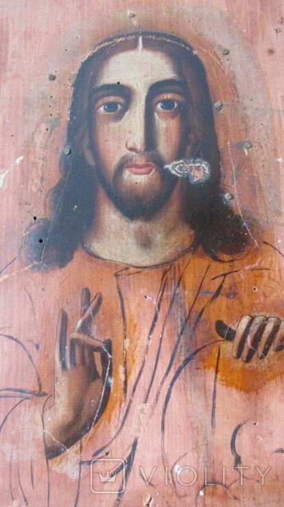 Икона Спаситель размер 17,5\22,5 см., фото №4