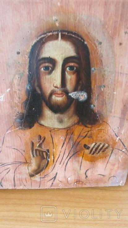 Икона Спаситель размер 17,5\22,5 см., фото №9