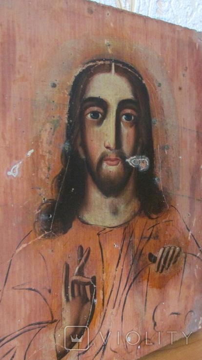 Икона Спаситель размер 17,5\22,5 см., фото №10