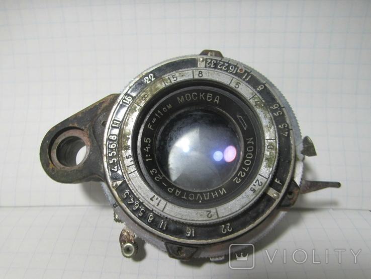 Объектив Индустар 23 № 000722 1942 г., фото №2