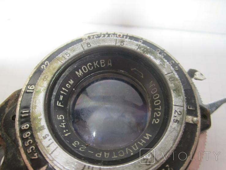 Объектив Индустар 23 № 000722 1942 г., фото №3