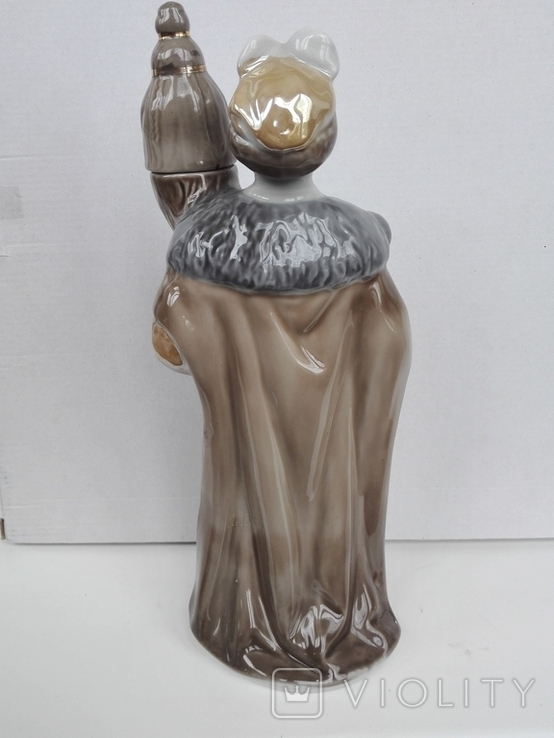 Фарфоровие штоф статуэтки. Кумы,Богдан Хмельницкий. Полонне., фото №7