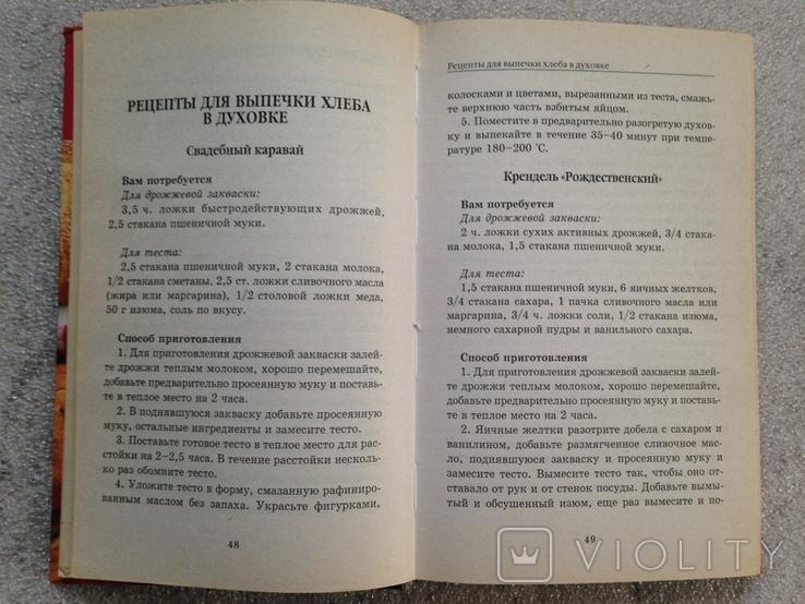 Домашний хлеб из хлебопечки и духовки 2009 220 с. 10 тыс.экз., фото №5
