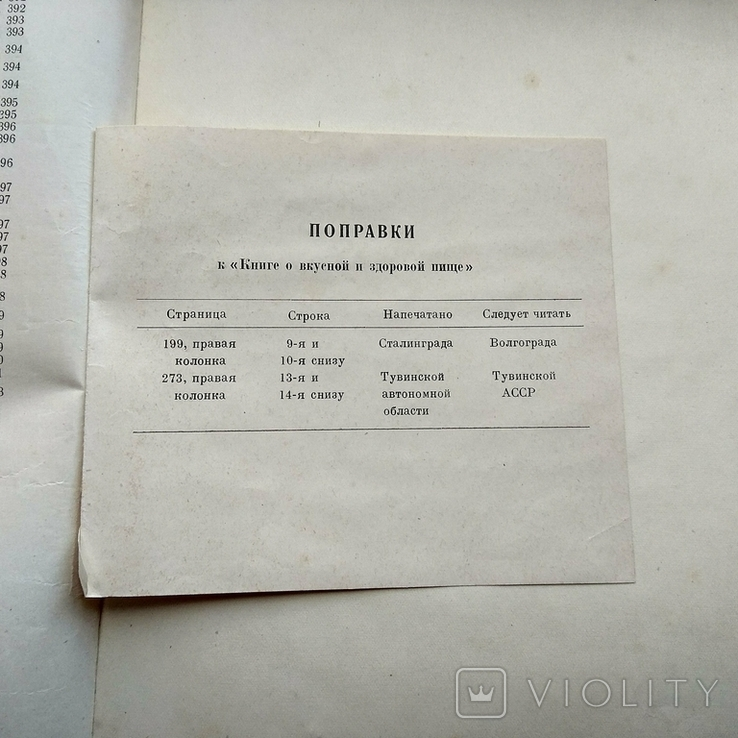 """"""" Книга о вкусной и здоровой пище"""" 1964год, фото №11"""