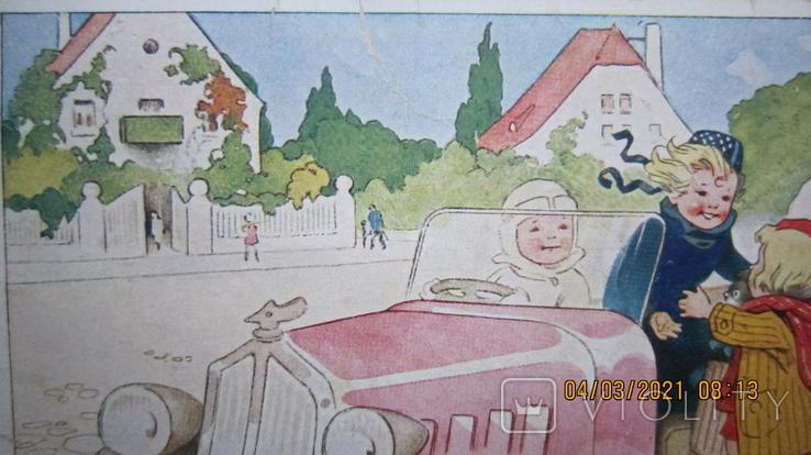 Старая открытка. Германия., фото №6