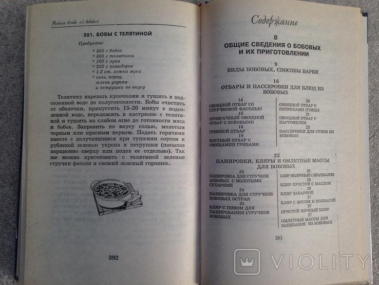 Блюда из бобовых 1996 448 с. ил., фото №10