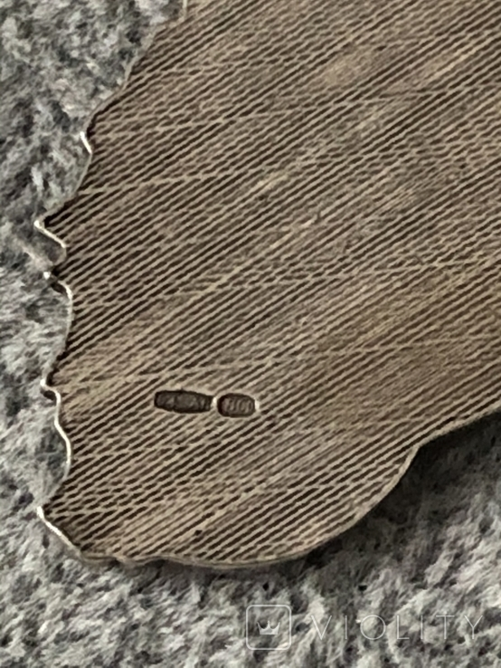 Серебряная подвеска Персидская кошка в эмалях (серебро 800 пр, вес 10,9 гр), фото №8