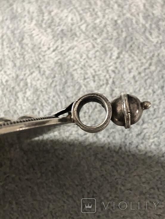Серебряный массивный кулон (серебро 925 пр, вес 31,8 гр), фото №7
