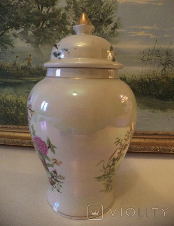 Фарфоровая ваза Англия, фото №3