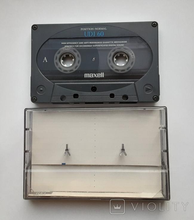Аудиокассета Maxell UDI 60 (Jap), фото №2