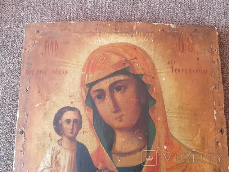 Старая икона Троеручница., фото №3