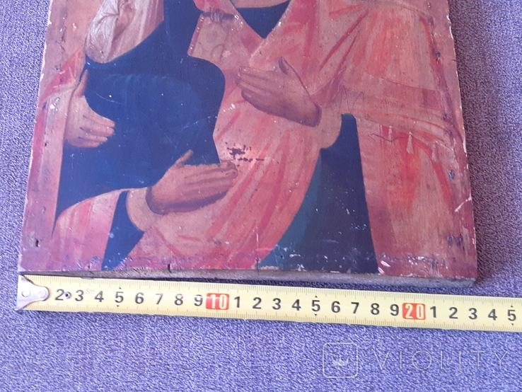 Старая икона Троеручница., фото №10