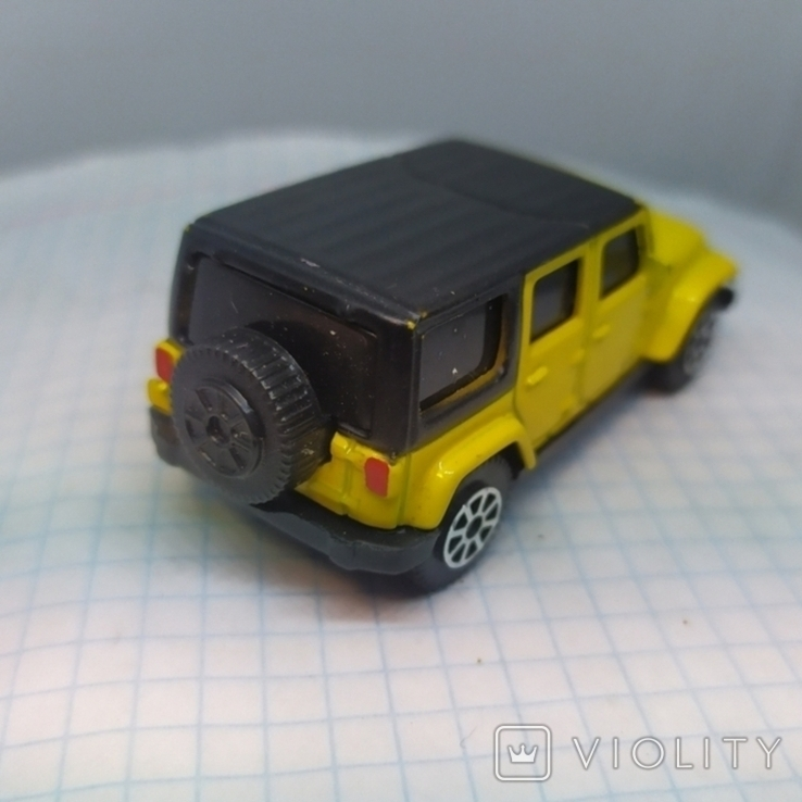 Машинка Jeep Wrangler Unlimited. Maisto (12.20), фото №5