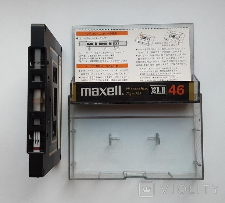 Аудиокассета Maxell XLII 46 (1978 Jap), фото №4