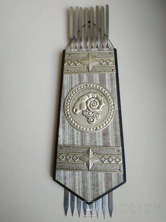 Шампурница сувенирная, Смоленский Авиационный з-д., фото №2