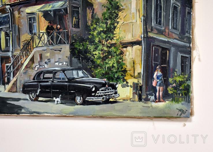 Картина масло Холст 55Х75 автор Сергей Тюпо, фото №4