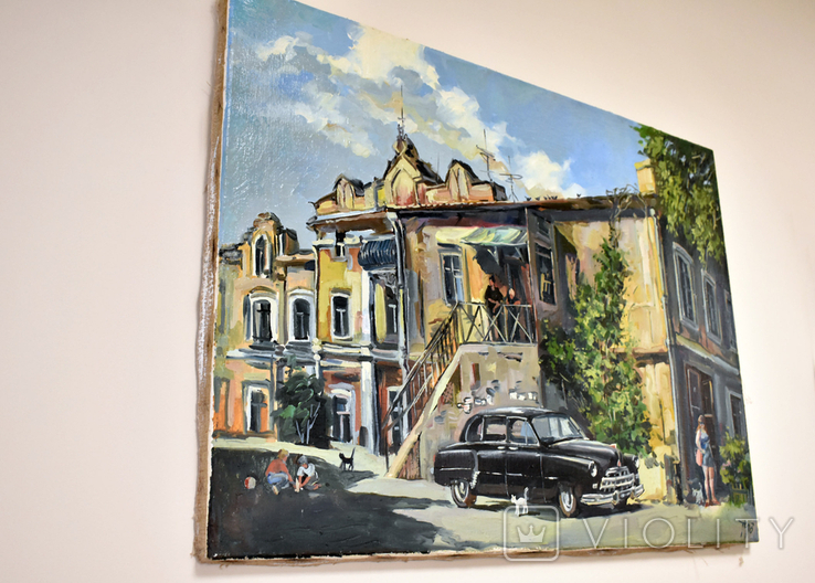Картина масло Холст 55Х75 автор Сергей Тюпо, фото №10