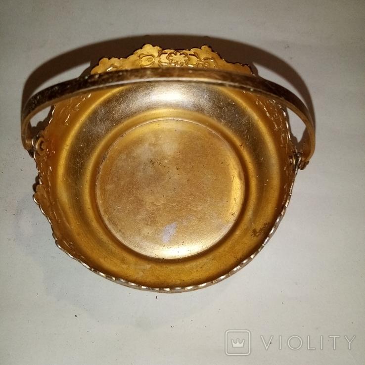 Конфетница алюминивая, фото №3
