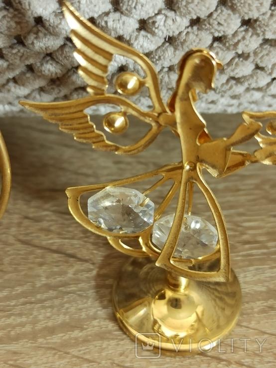 Ангел Филин Крест кристаллы Сваровски, фото №11
