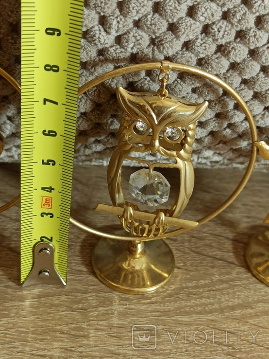 Ангел Филин Крест кристаллы Сваровски, фото №12
