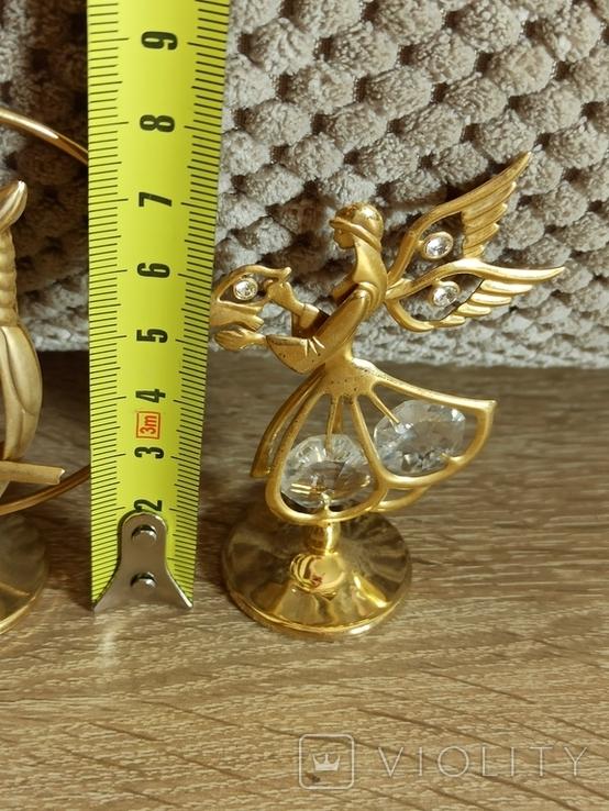 Ангел Филин Крест кристаллы Сваровски, фото №13