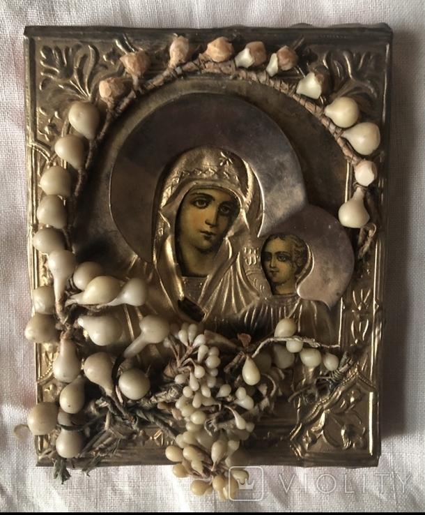 Икона Казанская Божья Матерь, фото №2