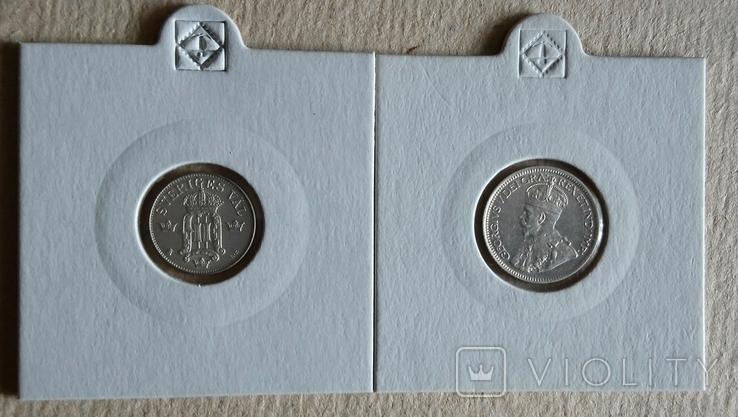 10ере1907гШвеция и 10центов1919гКанада(одним лотом)., фото №3