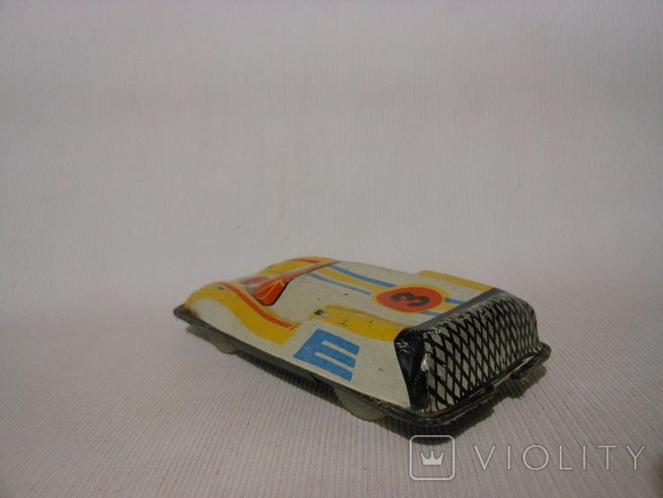 Гоночная машинка СССР Киевский з-д (жесть), фото №3