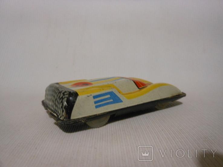 Гоночная машинка СССР Киевский з-д (жесть), фото №4