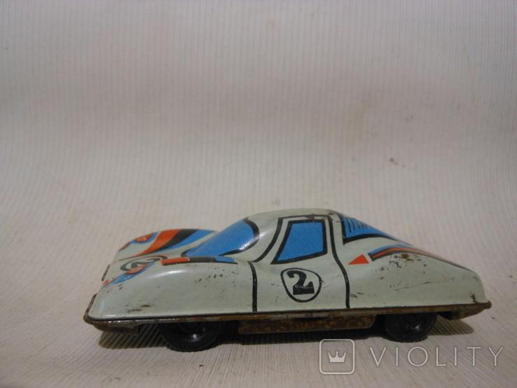 Гоночная машинка СССР (жесть), фото №2