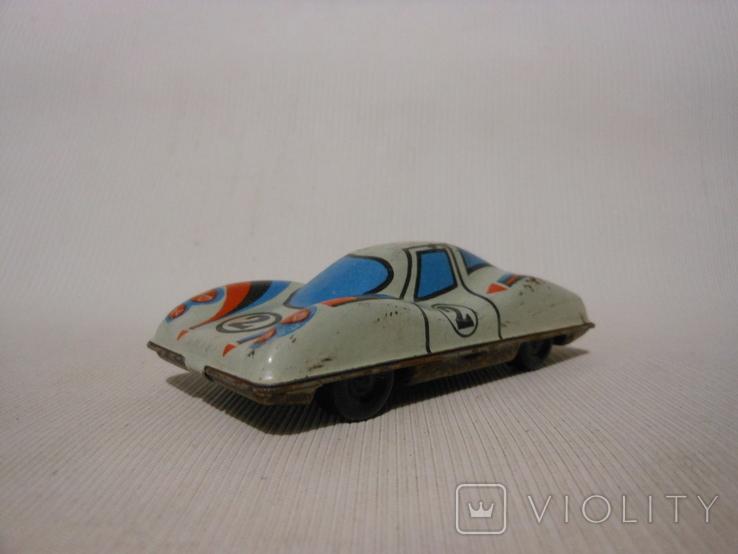 Гоночная машинка СССР (жесть), фото №3